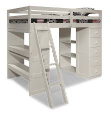 Bunk Bed With Storage And Desk Canwood Skyway Loft Bed With Desk And Storage Tower