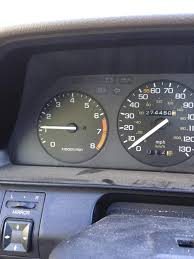 throttle idle issues on 1987 honda accord lx
