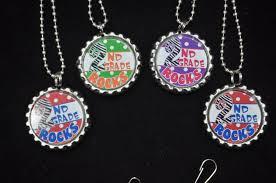 bottle cap necklaces ideas 4 second grade bottlecap necklace or zipper pull diy kits 2nd