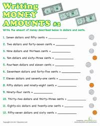 writing money amounts education com