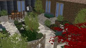 courtyard design portfolio u2013 centaurea design