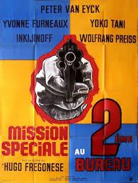 deuxieme bureau mission spéciale au deuxième bureau hugo fregonese 1964