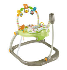 Amazon Baby Swing Chair Amazon Com Fisher Price Woodland Friends Spacesaver Jumperoo Baby