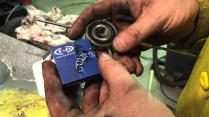 simple fast tips riding mower deck bearings how to grease
