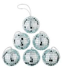 blue silver and white shatterproof ornaments 101pk