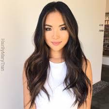 hair highlight for asian highlights on black hair asian