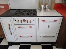 1930s Kitchen by 1930s Wedgewood Stove With Fun Red Highlights Collectors Weekly