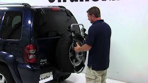 reviews on 2002 jeep liberty review of the thule spare tire mount bike rack on a 2006 jeep