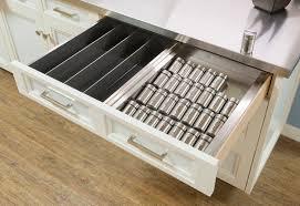 Kitchen Drawer Storage Ideas by Cabinet Kitchen Drawer Spice Organizers Creative Spice Storage