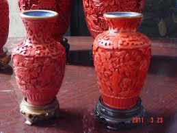 Cinnabar Vases Marginsale