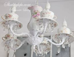 Tea Cup Chandelier 236 Best Decor Light Up My Life Images On Pinterest Crystal
