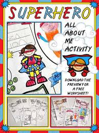 superhero worksheet speech therapy