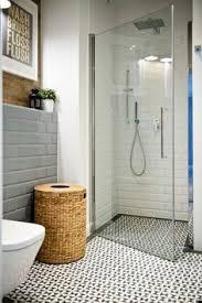 design indulgence high gloss subway tile next to textured tile