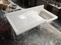 stylish porcelain kitchen sink u2014 home design ideas