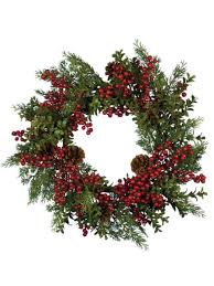large artificial berry wreath berry