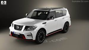 nissan patrol 2016 black 360 view of nissan patrol nismo 2014 3d model hum3d store