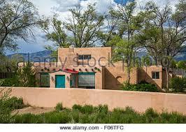 usa new mexico taos adobe style mission church of san francisco