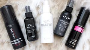 frugal fridayz battle of drugstore makeup setting sprays youtube