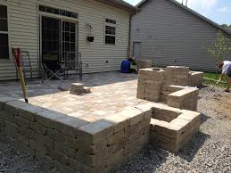 Menards Dog House Diy Backyard Paver Patio Outdoor Oasis Tutorial The Rodimels