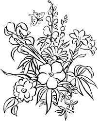 coloring pictures of hibiscus flowers coloring pages to print flowers hibiscus flower coloring pages