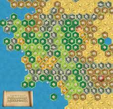 Lord Of The Rings Map Rohan And Gondor Catanmaps Com