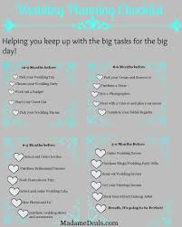 free wedding planner book free printable wedding planning checklist madame deals