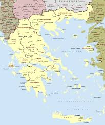 Map Of Greece With Cities by Greece And Mapskills Think Spot