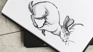 minimalist sketch