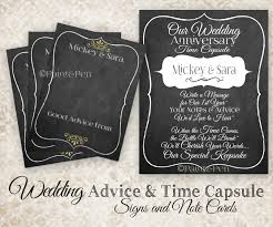 wedding wishes and advice new to paintandpen on etsy custom wedding time capsule wedding