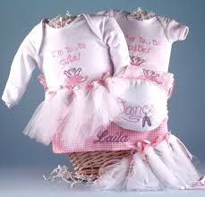 personalized gifts baby personalized baby gift basket future ballerina by silly phillie