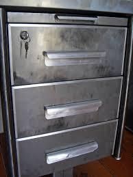 caisson metallique de bureau caisson acier brosse style and steel jpg tables bureaux