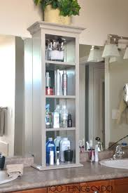 Bathroom Tower Shelves Bathroom Storage Tower Bathroom Storage Bathroom Cabinets And