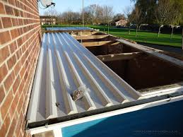 flat metal roof design roofing decoration camper roof replacement