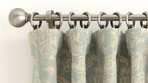 Curtains With Brass Eyelets How To Correctly Hang A Drape At Home Pottery Barn Youtube