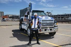 pax east 2016 the overwatch u0027monster truck u0027 got into a car