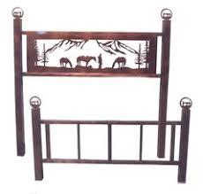western bed frame projects pinterest metalli arte del