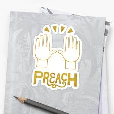celebration emoji preach celebration hands gold foil emoji art