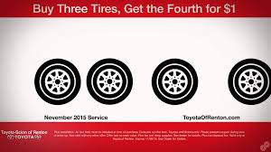 toyota offers toyota of renton november service offers youtube