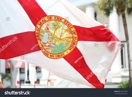 Florida Flag Facts Tallahassee Fl July 2016 State Florida Stock Photo 454155430