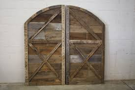 Bedroom Barn Doors by Buy Hand Crafted Arched Top Barn Doors Made To Order From