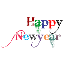 happy new year png transparent