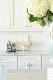 Kitchen Backsplash Photos White Cabinets Best 25 White Subway Tile Backsplash Ideas On Pinterest Subway