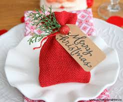 gift card bag or christmas table favor echoes of laughter
