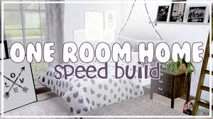 One Room The Sims 3 Speed Build One Room Home Youtube