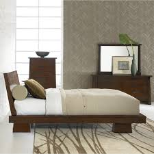 modern apartment bedroom furniture design shows brilliant queen