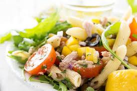 mediterranean tuna pasta salad food fanatic