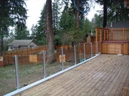modern glass deck railing outdoor glass deck railing gallery
