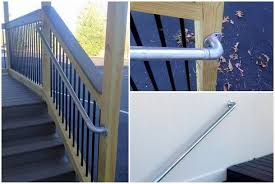 5 diy metal stair railing examples simplified building