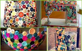 creative decorations with buttons so creative things creative