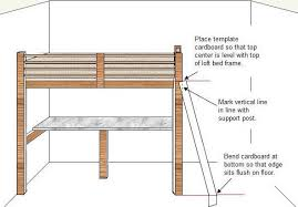 Free Loft Bed Woodworking Plans by How To Build A Budget Loft Bed Free Plans Part 5